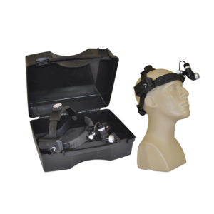 Surgical headlamp with carrying case