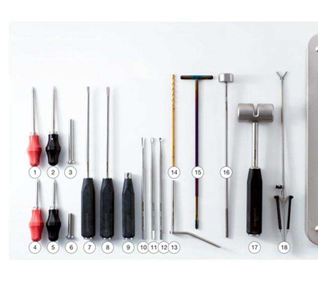 MTE Kit (Minimal Invasive Transbuccal Extraction Kit) Close-Up