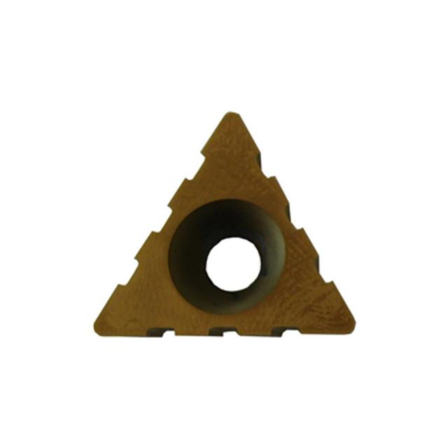 Insert triangulaire titane 3 encoches (unité) Zoom