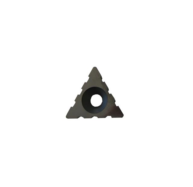 Insert triangulaire carbure de Tungstène 3 encoches (unité)