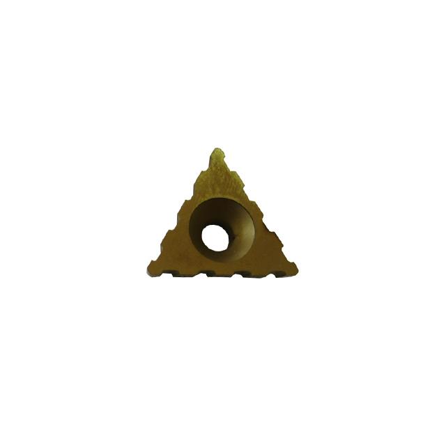 Insert triangulaire Titane 4 encoches (unité)