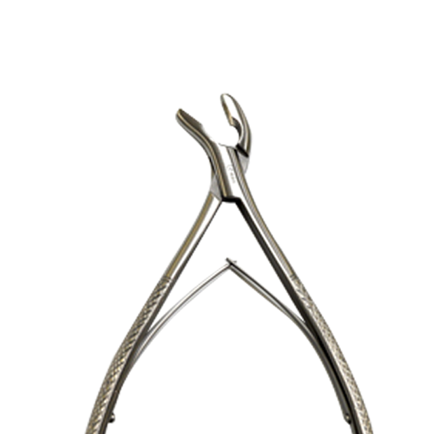 45° Gouge Forceps Close-Up